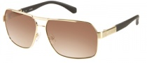 Guess GU 6751 Sunglasses Sunglasses - GLD-34: Satin Gold
