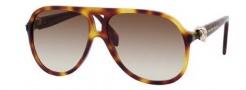 Alexander McQueen 4179/S Sunglasses Sunglasses - 005L Havana (CC brown gradient lens)