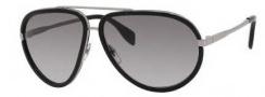 Alexander McQueen 4198/S Sunglasses Sunglasses - 085K Ruthenium (EU gray gradient lens)