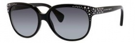 Alexander McQueen 4212/S Sunglasses Sunglasses - 0284 Black/Ruthenium (HD gray gradient lens)
