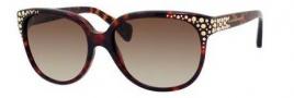 Alexander McQueen 4212/S Sunglasses Sunglasses - 0TVD Havana (CC brown gradient lens)