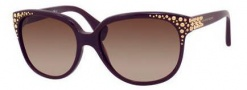 Alexander McQueen 4212/S Sunglasses Sunglasses - 0RYY Plum (D8 brown gradient lens)