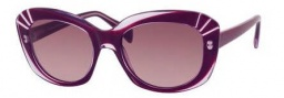 Alexander McQueen 4214/S Sunglasses  Sunglasses - 0SS8 Aubergine (DZ mauve lens)