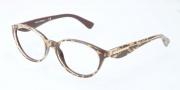 Dolce & Gabbana DG3173 Eyeglasses Eyeglasses - 2746 Leaf Gold on Brown