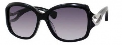 Alexander McQueen 4215/S Sunglasses Sunglasses - 0807 Black (9C dark gray gradient lens)