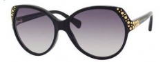 Alexander McQueen 4216/S Sunglasses Sunglasses - 0807 Black (9C dark gray gradient lens)