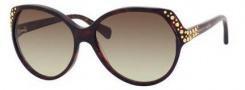 Alexander McQueen 4216/S Sunglasses Sunglasses - 0TVD Havana (CC brown gradient lens)