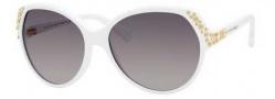 Alexander McQueen 4216/S Sunglasses Sunglasses - 0C29 White (EU gray gradient lens)