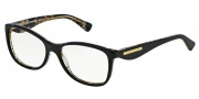 Dolce & Gabbana DG3174 Eyeglasses Eyeglasses - 2744 Top Black on Leaf Gold
