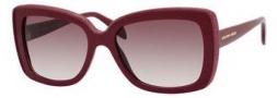 Alexander McQueen 4218/S Sunglasses Sunglasses - 0ARU Burgundy (J8 mauve gradient lens)