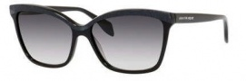 Alexander McQueen 4219/S Sunglasses Sunglasses - 0807 Black (9C dark gray gradient lens)