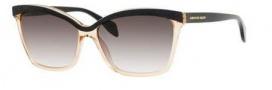 Alexander McQueen 4219/S Sunglasses Sunglasses - 0AU7 Black Nude (JS gray gradient lens)