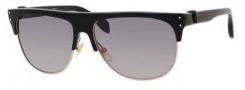 Alexander McQueen 4220/S Sunglasses Sunglasses - 0AUB Black (EU gray gradient lens)