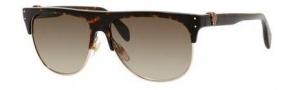 Alexander McQueen 4220/S Sunglasses Sunglasses - 0AUD Havana (HA brown gradient lens)