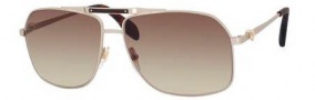 Alexander McQueen 4221/S Sunglasses Sunglasses - 0CGS Light Gold Semi Matte (CC brown gradient lens)