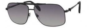 Alexander McQueen 4221/S Sunglasses Sunglasses - 0003 Matte Black (VK gray gradient lens)