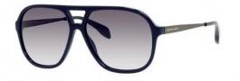 Alexander McQueen 4229/S Sunglasses Sunglasses - 0BCP Blue (9C dark gray gradient lens)