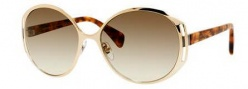 Alexander McQueen 4236/S Sunglasses Sunglasses - 02ID Gold (PN olive gradient lens)