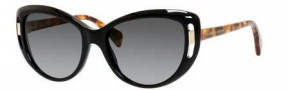Alexander McQueen 4238/S Sunglasses Sunglasses - 02JG Black (HD gray gradient lens)