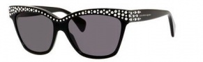 Alexander McQueen 4239/S Sunglasses Sunglasses - 0807 Black (Y1 gray lens)