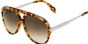 Alexander McQueen 4240/S Sunglasses Sunglasses - 02IM Havana (CC brown gradient lens)