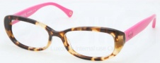 Coach HC6035 Eyeglasses Eyeglasses - 5103 Spotty Tortoise / Purple