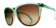 Electric Encelia Sunglasses Sunglasses - Mint Green Brown Fade / Brown Gradient