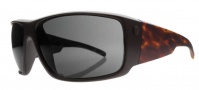 Electric Backbone Sunglasses Sunglasses - Matte Black / Tortoise / Grey