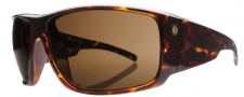 Electric Backbone Sunglasses Sunglasses - Tortoise / Bronze Polarized Level 1