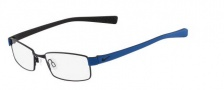 Nike 8162 Eyeglasses Eyeglasses - 418 Satin Blue/Military Blue