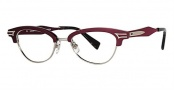 Seraphin Grand Eyeglasses Eyeglasses - 8603 Burgundy Silver / Black Tokyo