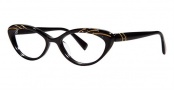 Seraphin Heather Eyeglasses Eyeglasses - 8531 Black Gold w/ Stones