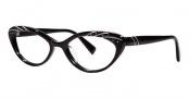 Seraphin Heather Eyeglasses Eyeglasses - 8781 Black Silver w/ Stones