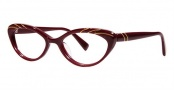 Seraphin Heather Eyeglasses Eyeglasses - 8782 Burgundy Gold w/ Stones