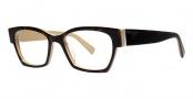 Seraphin Hennepin Eyeglasses Eyeglasses - 8711 Havana w/ Beige