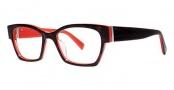 Seraphin Hennepin Eyeglasses Eyeglasses - 8710 Havana w/ Coral