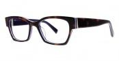 Seraphin Hennepin Eyeglasses Eyeglasses - 8712 Havana w/ Purple