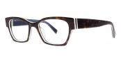Seraphin Hennepin Eyeglasses Eyeglasses - 8713 Havana w/ White