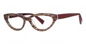 Seraphin Lyndale Eyeglasses Eyeglasses - 8656 Burgundy Marble / Deep Burgundy