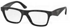 Prada PR 20QV Eyeglasses Eyeglasses - 1AB101 Black