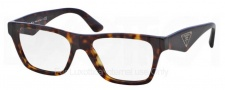 Prada PR 20QV Eyeglasses Eyeglasses - 2AU101 Havana