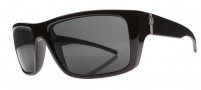 Electric Sixer Sunglasses Sunglasses - Gloss Black / Polarized Grey Level 1