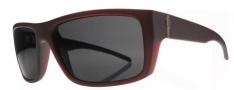 Electric Sixer Sunglasses Sunglasses - Crimson Red / Grey