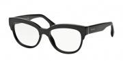 Prada PR 21QV Eyeglasses Eyeglasses - 1AB101 Black