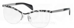 Prada PR 64QV Eyeglasses Eyeglasses - KAD101 White Havana