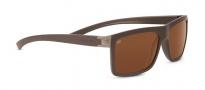 Serengeti Brera Sunglasses Sunglasses - 7926 Sanded Dark Brown / Polarized Drivers