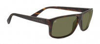 Serengeti Claudio Sunglasses Sunglasses - 7953 Satin Dark Tortoise / Polarized 555nm