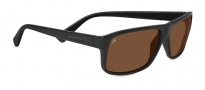 Serengeti Claudio Sunglasses Sunglasses - 7950 Shiny Black / Polarized Drivers