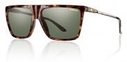 Smith Optics Cornice Sunglasses Sunglasses - Yellow Tortoise / Gray Green