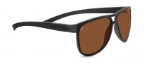 Serengeti Verdi Sunglasses Sunglasses - 7937 Sanded Black / Polarized Drivers